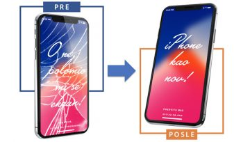 Zamena iPhone ekrana u iPhone Srbija servisu
