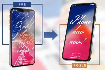 Zamena iPhone ekrana
