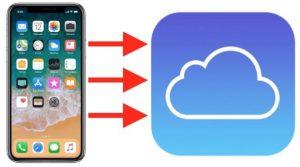 iPhone i iPad bekap na iCloud